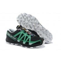 Salomon Fellraiser Hombre Mountain Trail Zapatillas Jnh Negro Verde