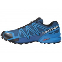 Zapatillas Trail Running Hombre Azul Depth/Brillante Azul/Negro De Salomon Speedcross 4 Cs