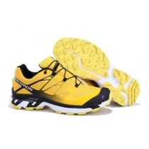 Amarillo Negro Salomon Xt 3d Wings Ultra Mountain Trail Zapatillas Por Hombre