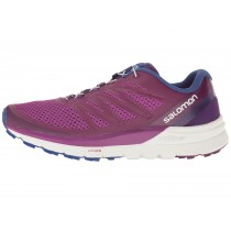 Zapatillas De Montaña Salomon Sense Pro Max Mujer Púrpura/Blanco/Azul