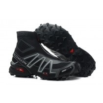 Botas Salomon Snowcross Trail Athletic Hombre Negro Gris