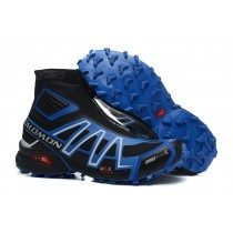Hombre Botas Salomon De Snowcross Trail Athletic Sky Azul Negro