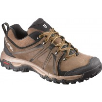 Excursionismo Zapatillas De Salomon Absolute Marrón-X/Beige/Amarillo Ltr Hombre