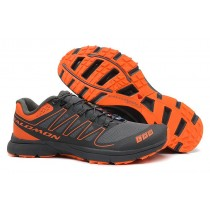 Salomon S-Lab Sense 2 Trail Zapatillas Running Ultra Ligeroweight Hombre Dim Gris Naranja