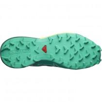 Mujer zapatillas Salomon SPEEDCROSS 4 CS W 406112 Oscuro MarVerde/LimónGasa/Pálido Verde
