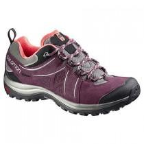 Excursionismo Zapatillas De Mujer Salomon Ellipse 2 Ltr W Negro/Rojo/Gris