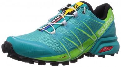 Salomon Speedcross Pro Mujer Teal Azul F/Granny Verde/Blanco Zapatillas De Montaña