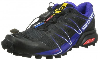 Zapatillas Running Mujer Salomon Speedcross Pro Negro/Spectrum Azul/Blanco