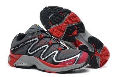 Zapatillas Deportivas De Salomon Hombre Xt Hawk Trail Gris Rojo
