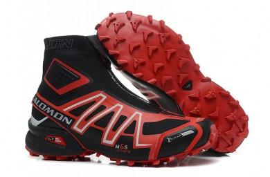 Botas Salomon De Snowcross Trail Athletic Hombre Negro Rojo