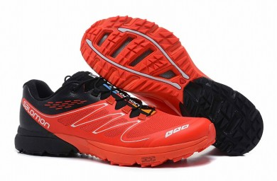 Salomon S Lab Sense Rojo/Negro Hombre Zapatillas
