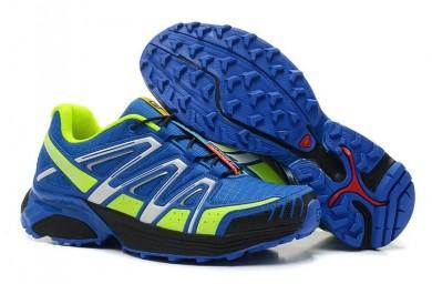 Azul Verde Salomon Xt Hornet Trail Hombre Zapatillas Deportivas