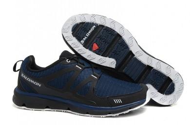 Salomon S-Wind Oscuro Azul Negro Zapatillas Deportivas De Hombre