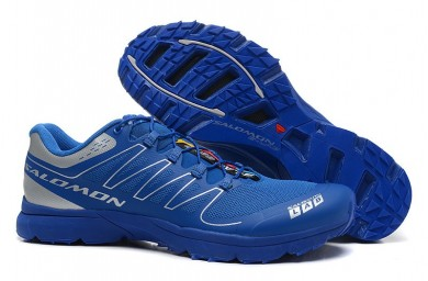 Zapatillas Running Hombre Salomon S-Lab Sense 2 Trail Ultra Ligeroweight Royal Azul Plata
