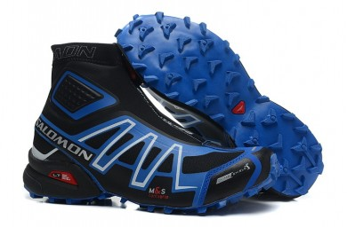 Hombre Botas Salomon De Snowcross Trail Athletic Sky Azul Negro