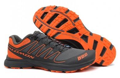 Salomon S-Lab Sense 2 Trail Zapatillas Running Ultra Ligeroweight Hombre Dim Gris Naranja