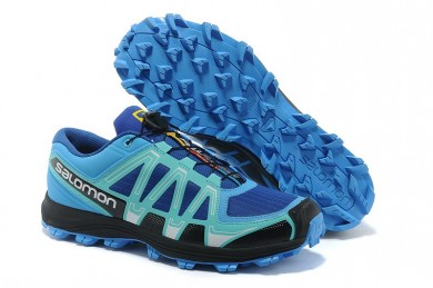 Salomon Fellraiser Hombre Mountain Trail Jnh Azul Negro Zapatillas