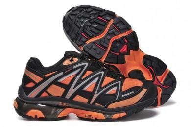 Negro Naranja Salomon Sport Amphibian 2 Hombre Zapatillas De Montaña  Lb