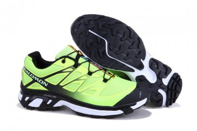 Verde Negro Salomon Xt 3d Wings Ultra Mountain Trail Hombre Zapatillas