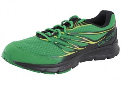 Zapatillas De Montaña Verde/Negro Salomon Sense Link Hombre