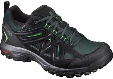 Zapatillas Hombre Negro/Verde Salomon Evasion 2 Gtx