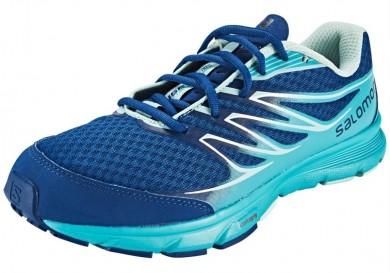 Azul Salomon Sense Link Mujer Zapatillas De Montaña