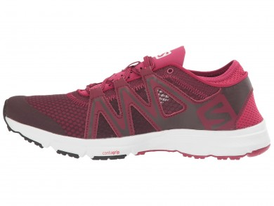 Mujer Fig/Blanco/Sangria Salomon Crossamphibian Swift Zapatillas Running