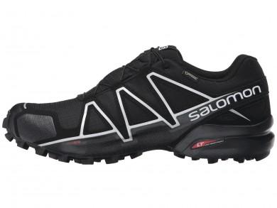 Zapatillas Running Hombre Salomon Speedcross 4 Gtx Negro/Negro/Plata Metallic