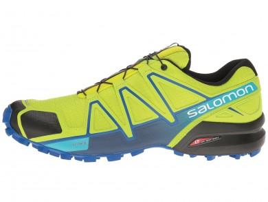Zapatillas Salomon Speedcross 4 Hombre Lime Verde/Nautical Azul/Azul