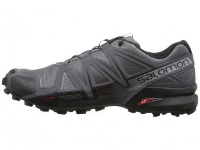 Zapatillas De Montaña Salomon Speedcross 4 Hombre Oscuro Gris/Negro/Pearl Gris