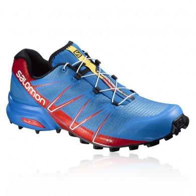 Zapatillas Running Salomon Speedcross Pro Trail Hombre Azul/Rojo