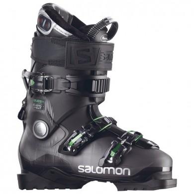 Custom Heat Hombre Negro/Verde Zapatillas De Montaña De Salomon Quest Access