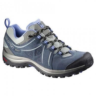 Salomon Ellipse 2 Ltr W Titanium/Profundo Azul/Azul Mujer Excursionismo Zapatillas
