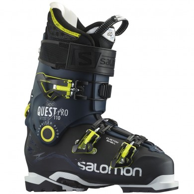 Hombre Salomon Quest Pro 110 Negro/Oscuro Azul Zapatillas Deportivas