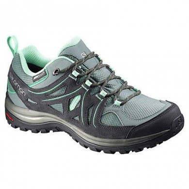 Salomon Ellipse 2 Cs Wp W Ligero/Verde Mujer Zapatillas Trail Running
