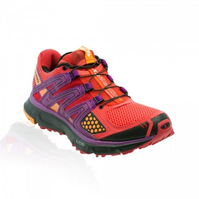 Zapatillas Running Salomon Xr Mission Trail Mujer Rosa/Naranja Feeling/Negro