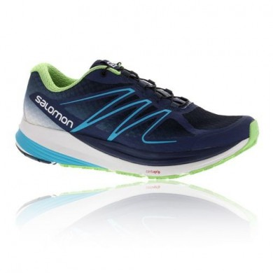 Mujer Blanco/Azul/Verde Salomon Sense Propulse Zapatillas Trail Running