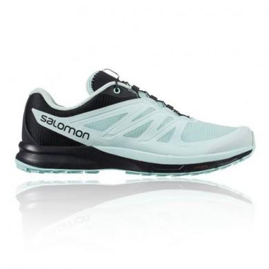 Zapatillas Running Salomon Sense Pro 2 Trail Mujer - Azul/Negro