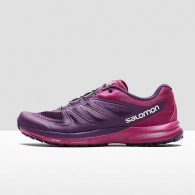 Salomon Sense Pro 3 Mujer Zapatillas Running En Trail Púrpura/Rojo