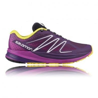 Amarillo/Púrpura Mujer Salomon Sense Propulse Trail Zapatillas Running
