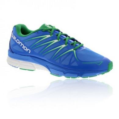 Hombre Zapatillas Running Verde/Azul - Salomon X-SCrema Foil Trail