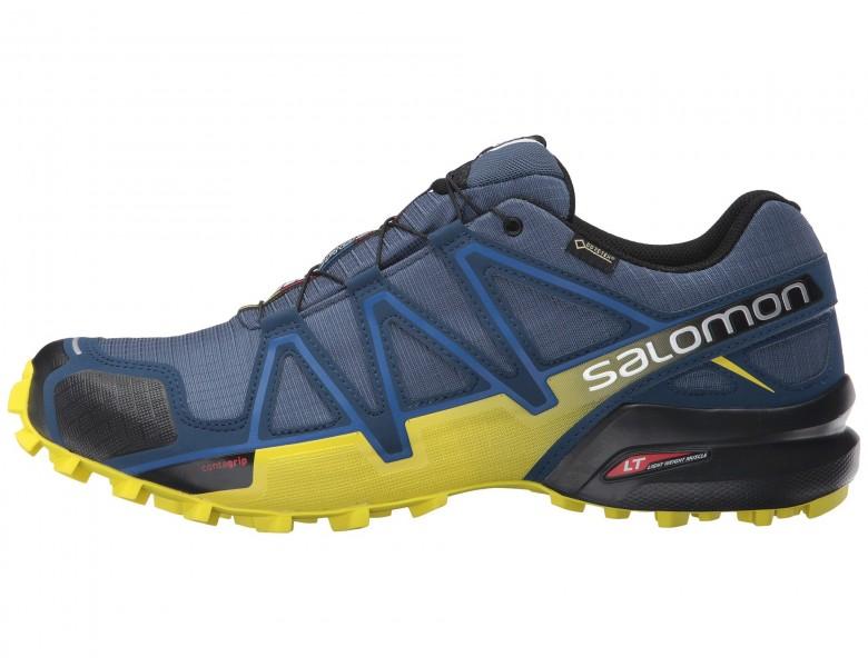 baratas Hombre Zapatillas Salomon Speedcross 4 Gtx SlateAzul ...